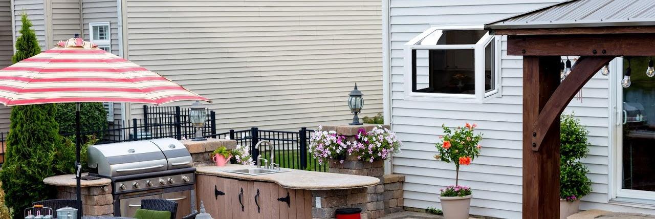 Endure Garden Window - Exterior